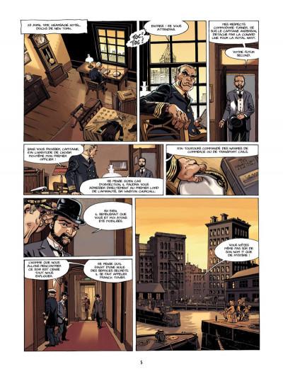 Page 4 S.O.S. Lusitania tome 1 - la croisière des orgueilleux