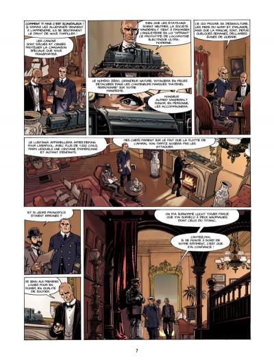 Page 6 S.O.S. Lusitania tome 1 - la croisière des orgueilleux