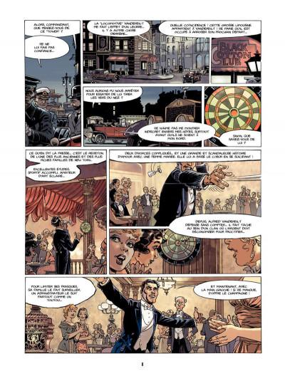 Page 7 S.O.S. Lusitania tome 1 - la croisière des orgueilleux