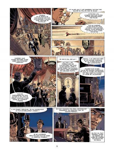 Page 8 S.O.S. Lusitania tome 1 - la croisière des orgueilleux