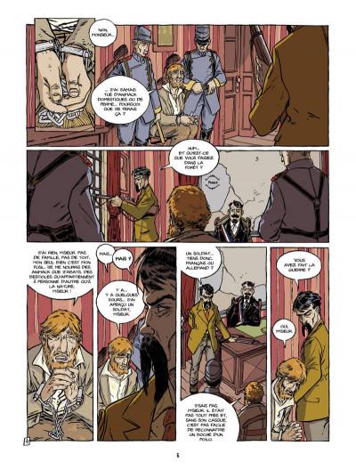 Page 5 pour un peu de bonheur tome 2 - Aurélien
