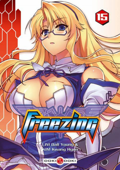 Couverture freezing tome 15