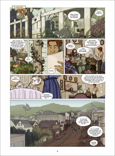 Page 5 une vie à écrire