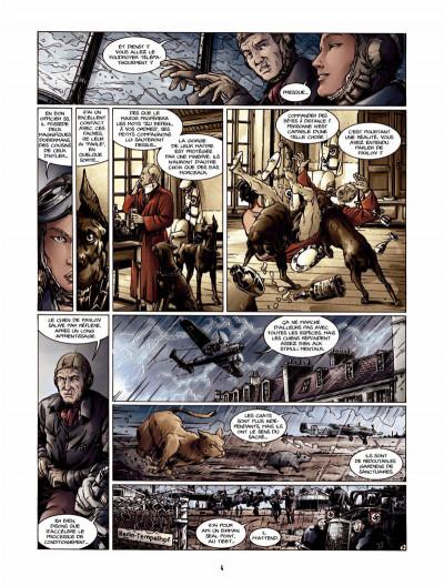 Page 3 l'oeil des dobermans tome 2 - l'ombre des chiens