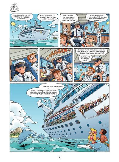 Page 2 Sunny Bay tome 2 - à l'eau... ah !