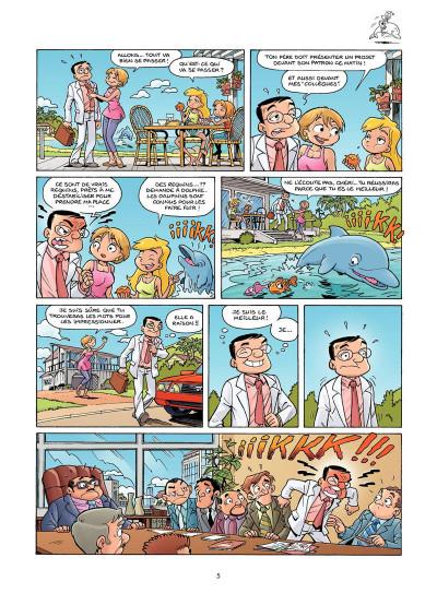 Page 3 Sunny Bay tome 2 - à l'eau... ah !