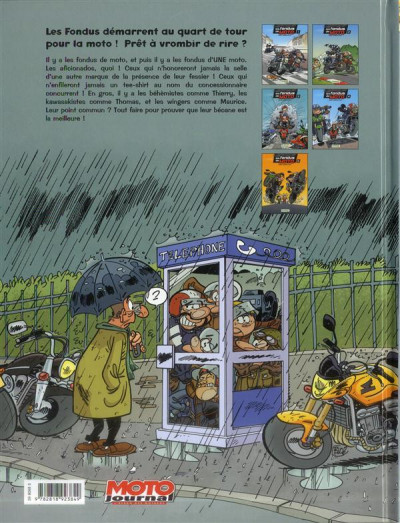Dos Les fondus de moto tome 5