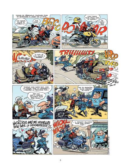 Page 3 Les fondus de moto tome 5