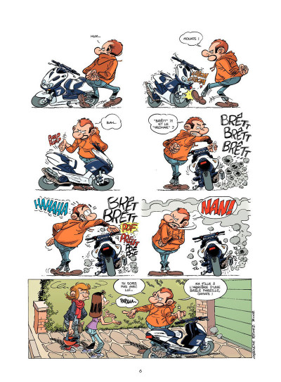 Page 4 Les fondus de moto tome 5
