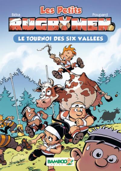 Couverture Les petits rugbymen - roman poche - tome 4