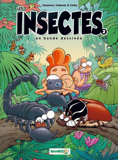 Couverture Les insectes en BD tome 2