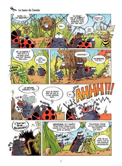Page 1 Les insectes en BD tome 2