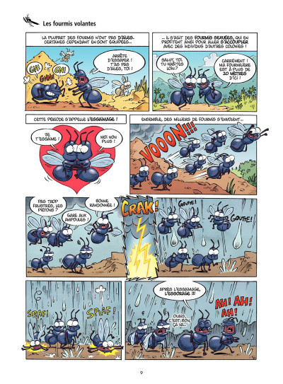 Page 6 Les insectes en BD tome 2