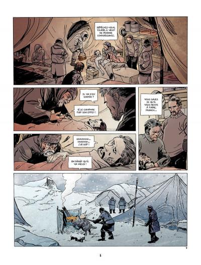 Page 7 Sur les bords du monde Tome 2