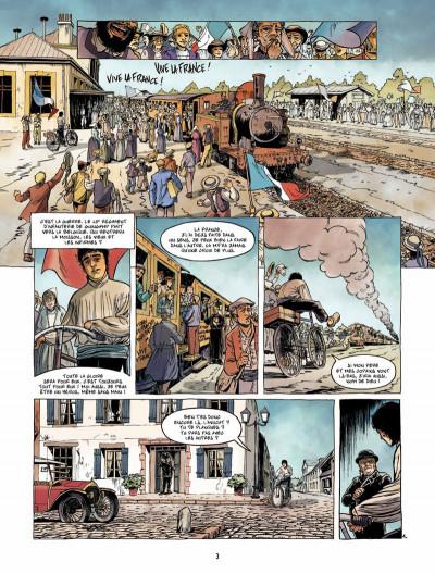 Page 2 Le Fils de l'officier Tome 3 - La Tête en feu