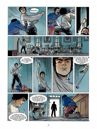 Page 4 Le Fils de l'officier Tome 3 - La Tête en feu