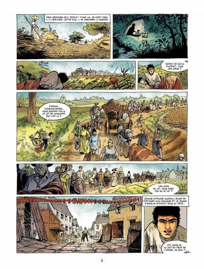 Page 5 Le Fils de l'officier Tome 3 - La Tête en feu