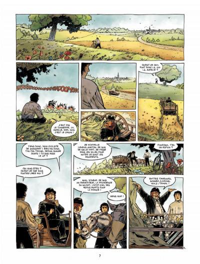 Page 6 Le Fils de l'officier Tome 3 - La Tête en feu