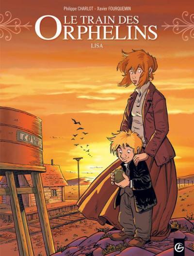 image de Le train des orphelins tome 3 - Lisa