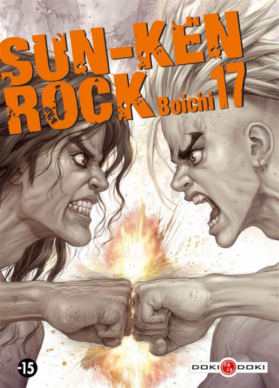 Couverture sun-ken rock tome 17