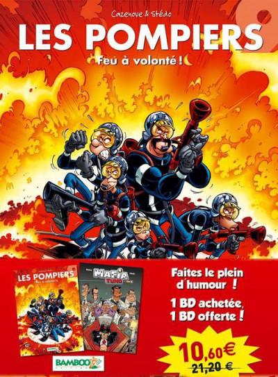 image de Pack les pompiers tome 9 + mafia tuno tome 1