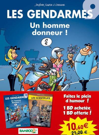 image de Pack les gendarmes tome 9 + les scientiflics tome 2