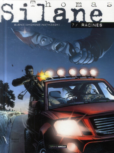 Couverture Thomas Silane Tome 7