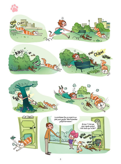 Page 1 Cath et son chat Tome 3