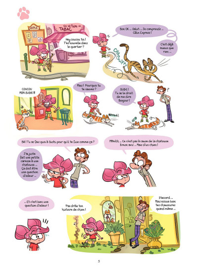 Page 3 Cath et son chat Tome 3