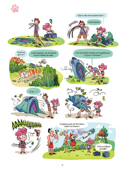 Page 4 Cath et son chat Tome 3