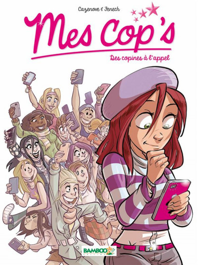 Couverture Mes cop's tome 1 - des copines à l'appel