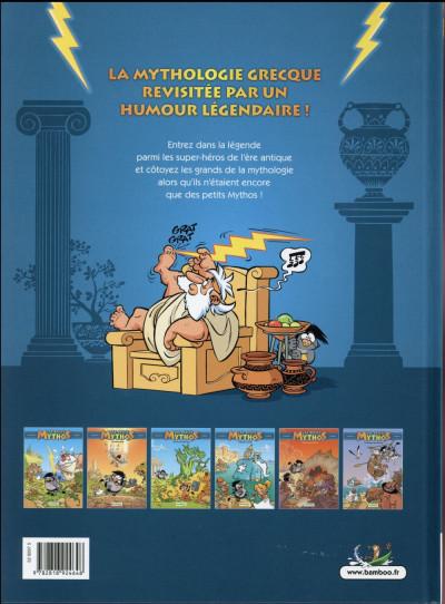 Dos Les Petits Mythos Tome 3 - Les Titans sont durs