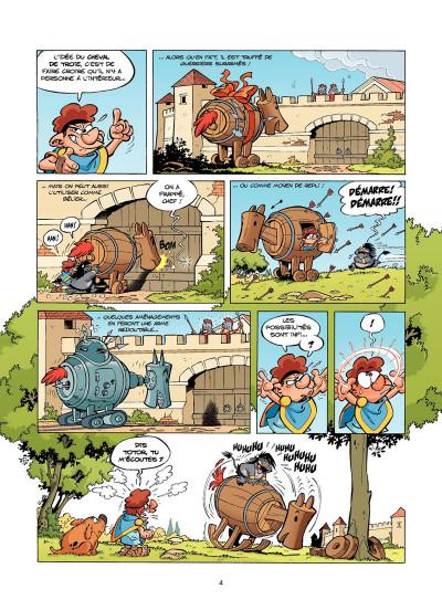 Page 2 Les Petits Mythos Tome 3 - Les Titans sont durs