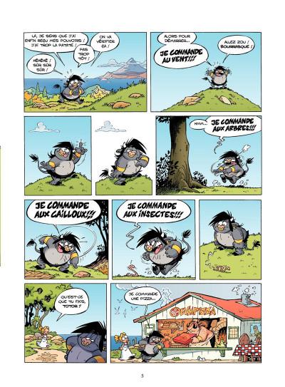 Page 3 Les Petits Mythos Tome 3 - Les Titans sont durs