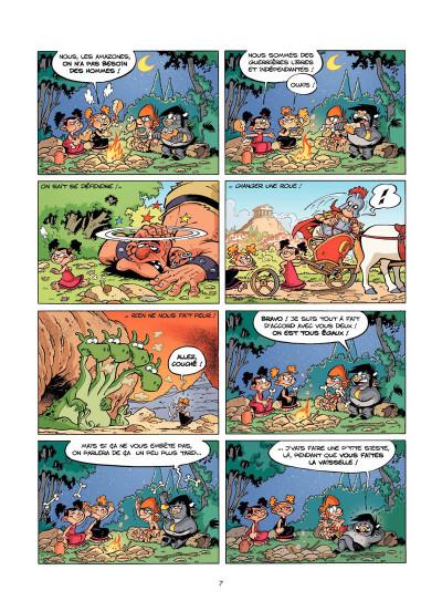 Page 5 Les Petits Mythos Tome 3 - Les Titans sont durs