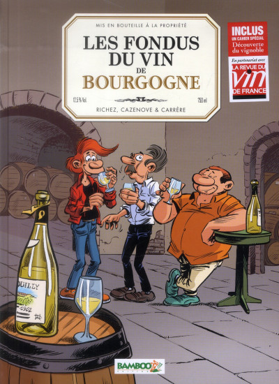 image de les fondus du vin ; Bourgogne