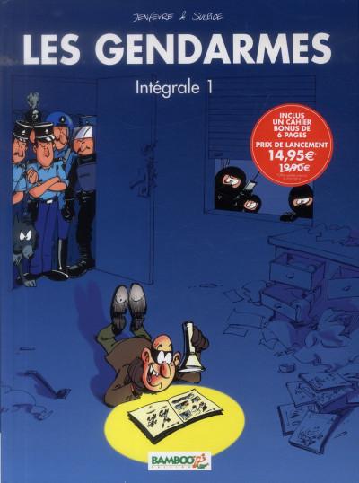 image de les gendarmes intégrale 1 - tome 1 et tome 2