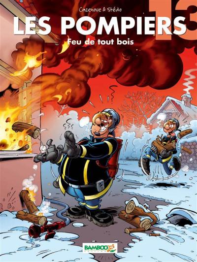 Couverture les pompiers tome 13