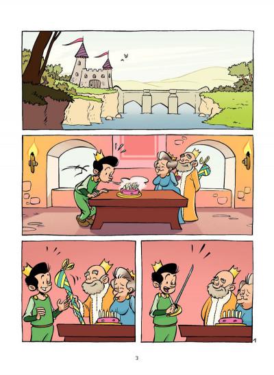Page 2 la princesse au petit pois