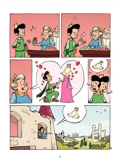 Page 3 la princesse au petit pois