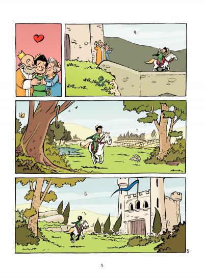 Page 4 la princesse au petit pois
