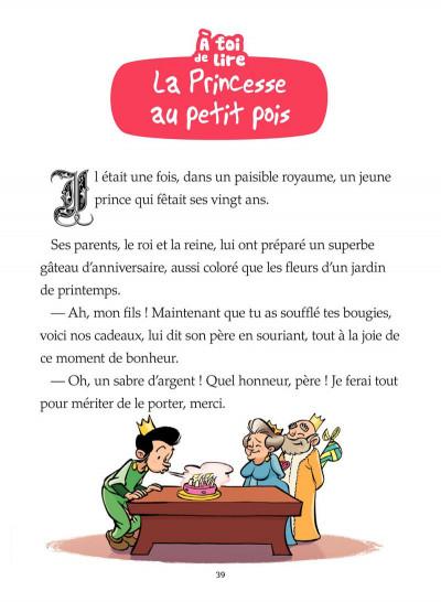 Page 7 la princesse au petit pois