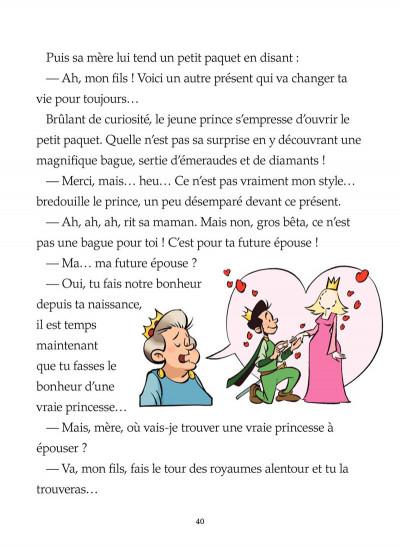 Page 8 la princesse au petit pois