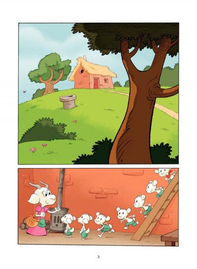 Page 2 le loup et les 7 chevreaux