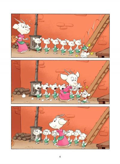 Page 3 le loup et les 7 chevreaux