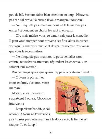 Page 8 le loup et les 7 chevreaux