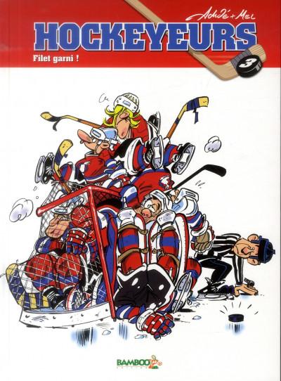 image de Les hockeyeurs tome 3 - filet garni