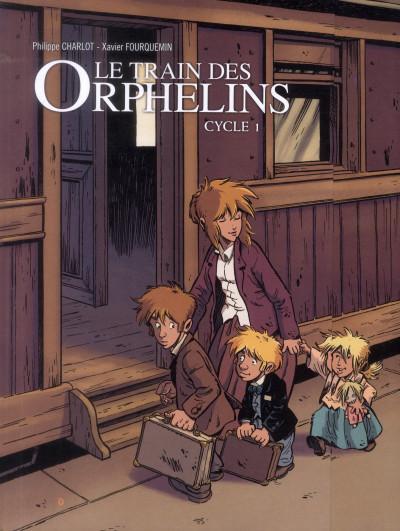 Couverture le train des orphelins tome 1 et tome 2 - coffret