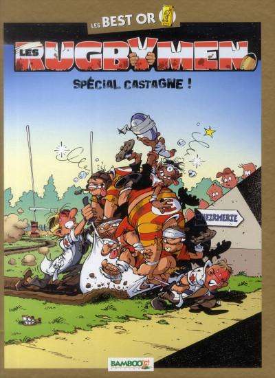 Couverture Les rugbymen - spécial castagne