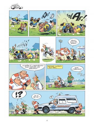 Page 3 Les rugbymen - spécial castagne